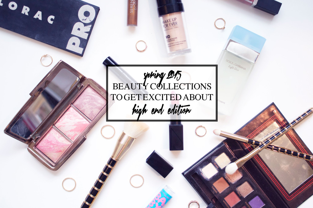 Spring 2015 Beauty Collections + Products to Get Excited About | High End Edition | www.annemariemitchell.com