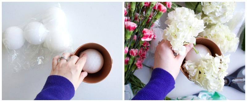 step 1-2 flowers