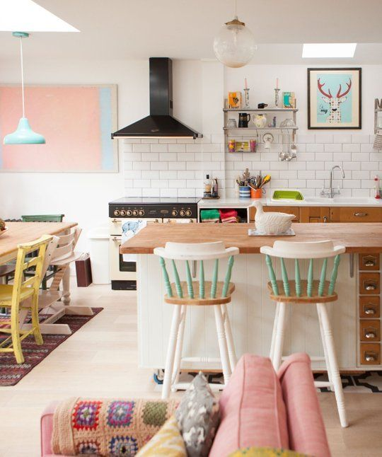 Decor Inspiration: Pastel Interiors