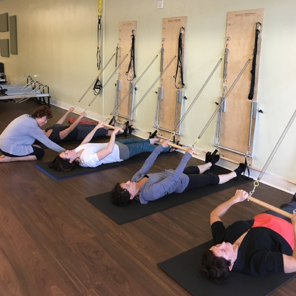 Pilates spring boards