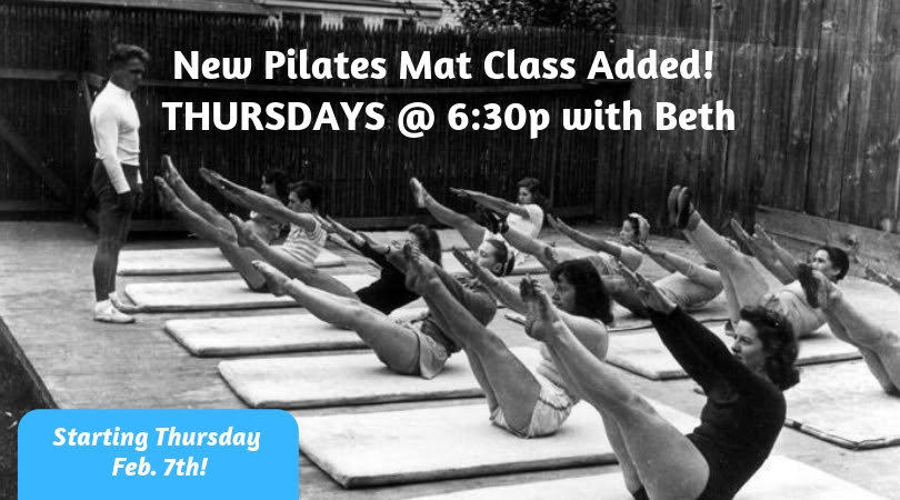 New Pilates Mat