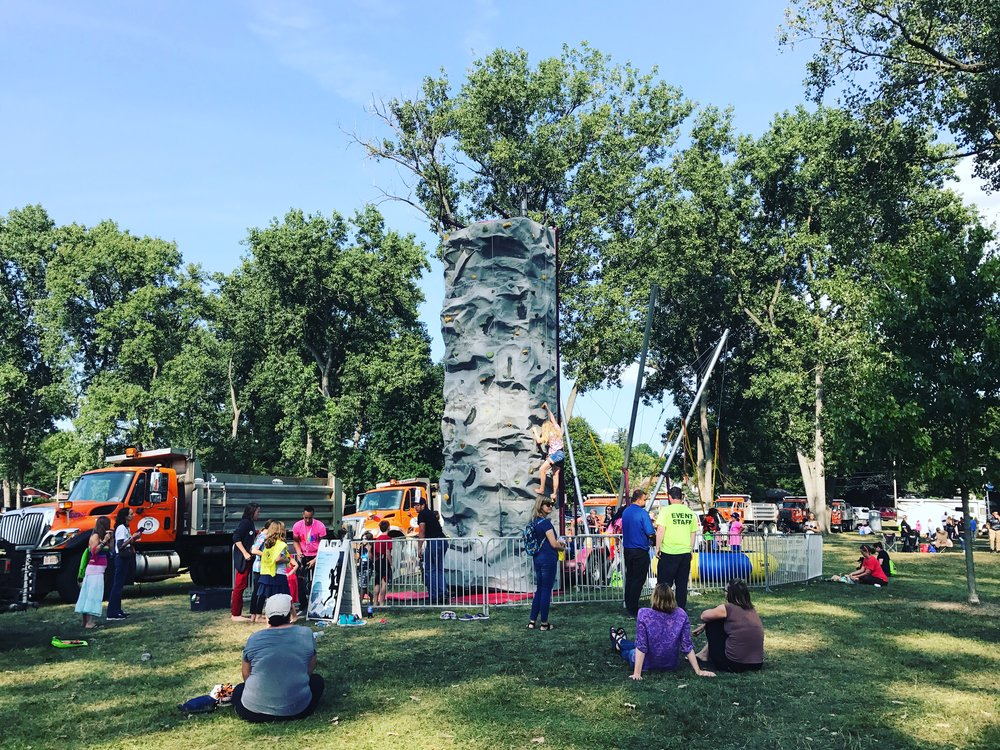Noon until 3 p.m, families will enjoy the expanded Kids Zone featuring bounce houses, rock wall,  trampoline bungee jump, kiddie Ferris wheel. Black Panther, Moana & Maui will make an appearance along with a few more surprises! The Book Mobile will be on site again, along with a number of hands-on activities!