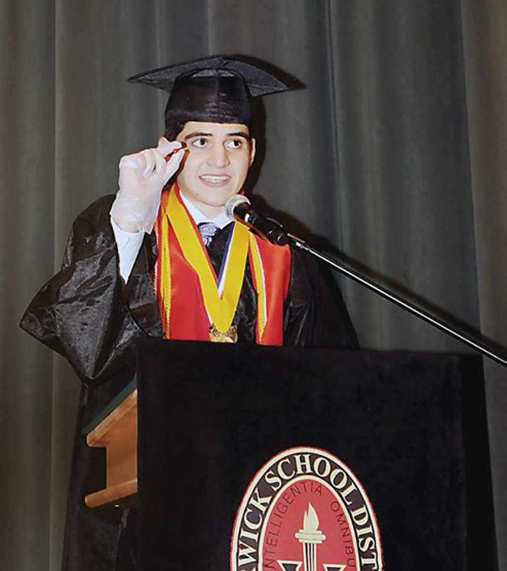 #throwback to my high school graduation. We must start teaching our children about grit sooner than later.