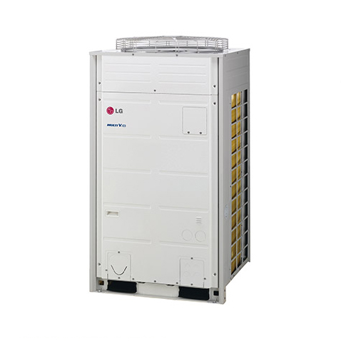 Sistema de VRFMV3 II - Alto padrão em Climatização para instalação de médio a grande porte. Com apenas uma unidade condensadora externa, é possível climatizar múltiplos ambientes simultaneamente (até 64 máquinas evaporadoras), com a máxima eficiência energética em um moderno sistema de automação.