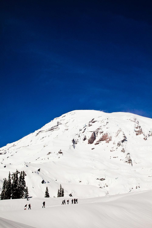 Mount Rainier Adventure Family Portrait Sessions