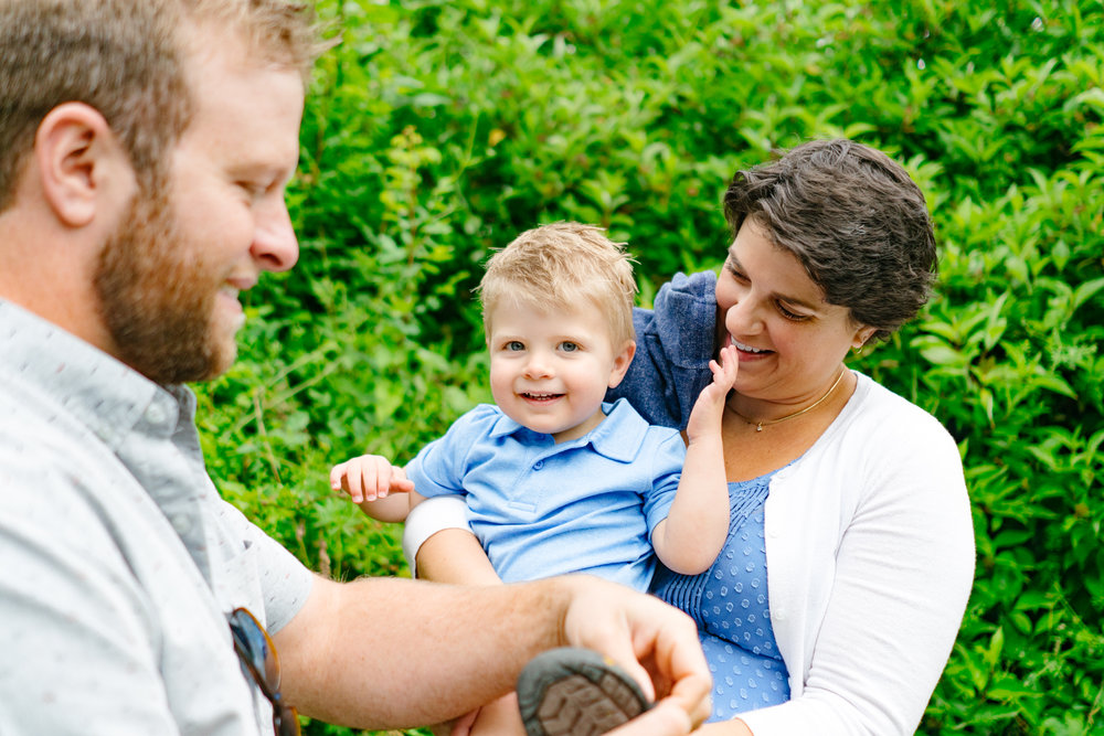 Family Photography Session at Clark Lake Park in Kent, Washington