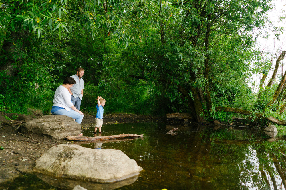 Fun Summer Family Adventure Portrait Sessions in Washington State