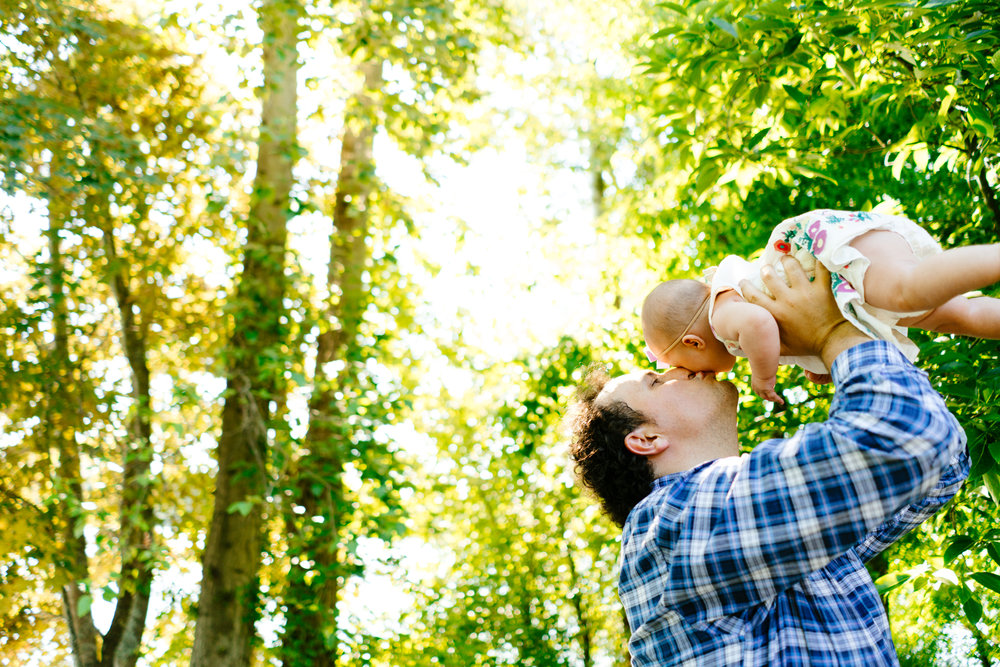 Seattle Family Photography at Green Lake