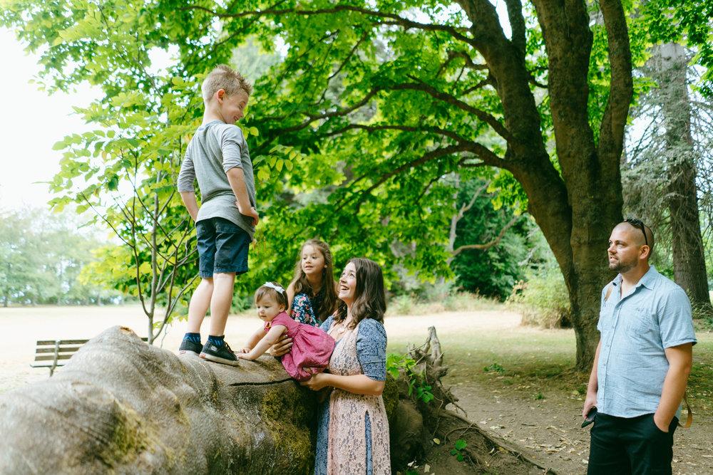 West Seattle Adventure Family Photographer