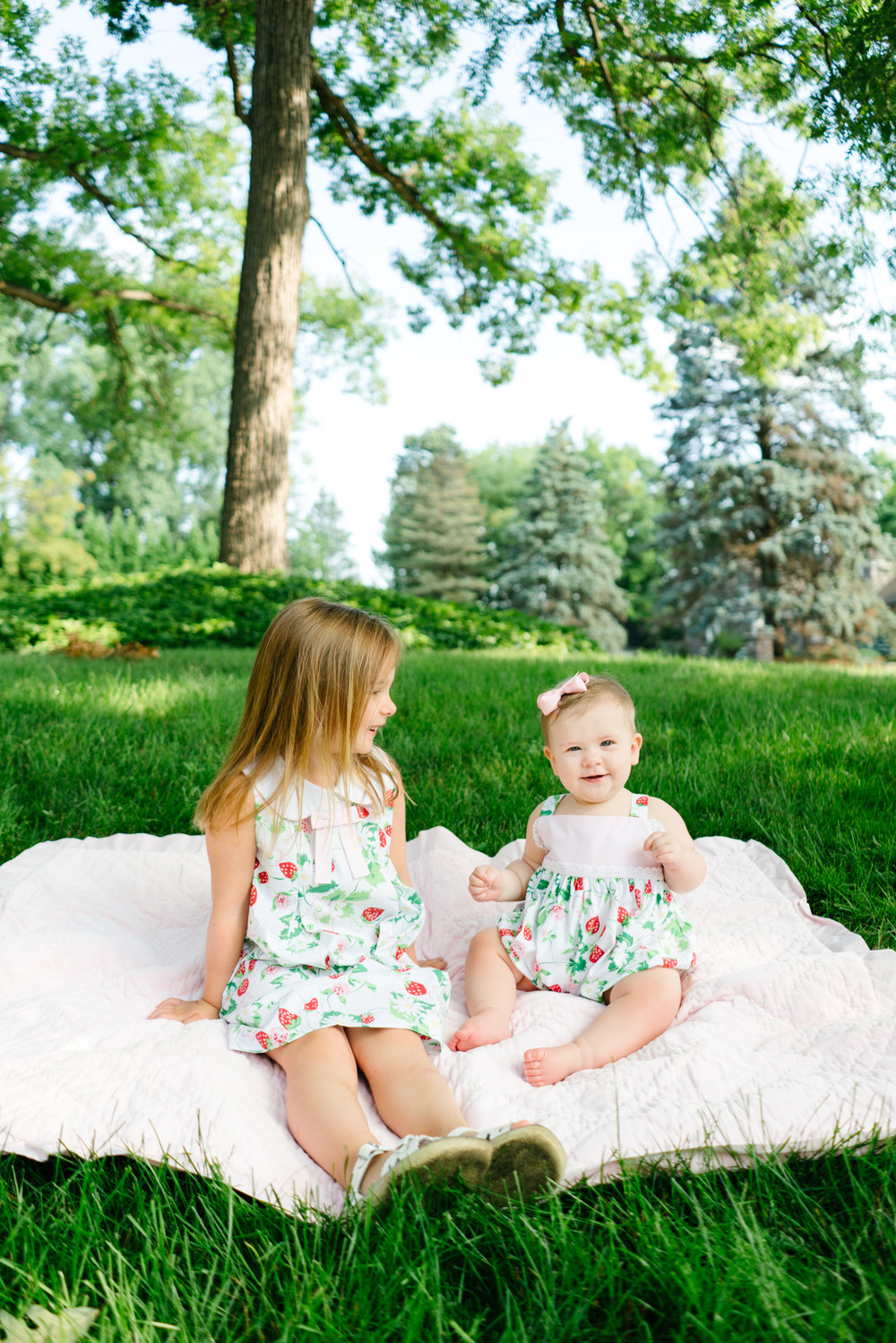 Summer Children's Photos in Seattle, Washington