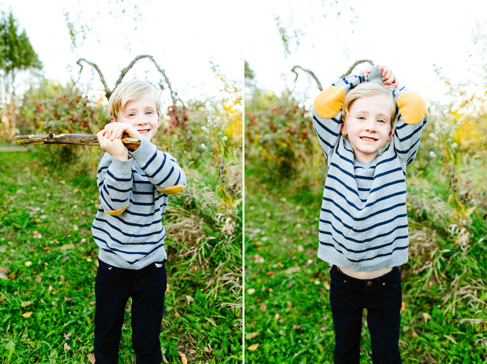 Seattle Family Photography At An Apple Orchard