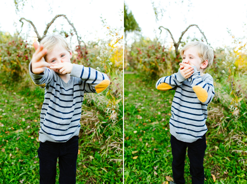 Kirkland Family Photography Mini Sessions At An Apple Orchard