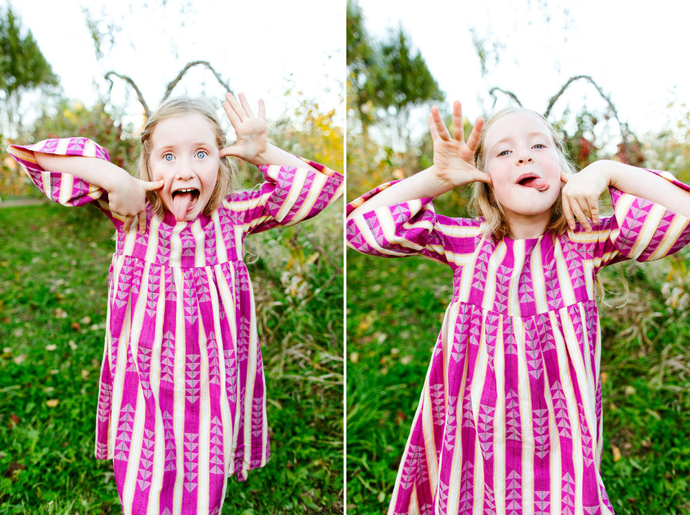 Whidbey Island Family Photography Mini Sessions At An Apple Orchard