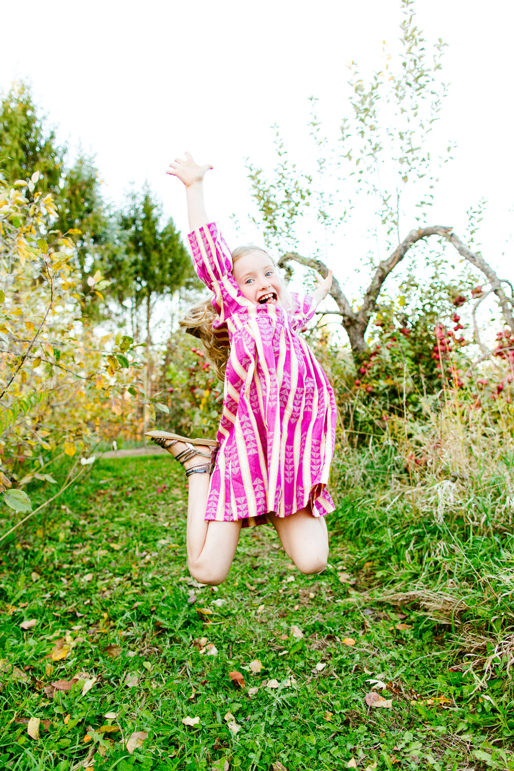 Seattle Family Photography Mini Sessions At An Apple Orchard