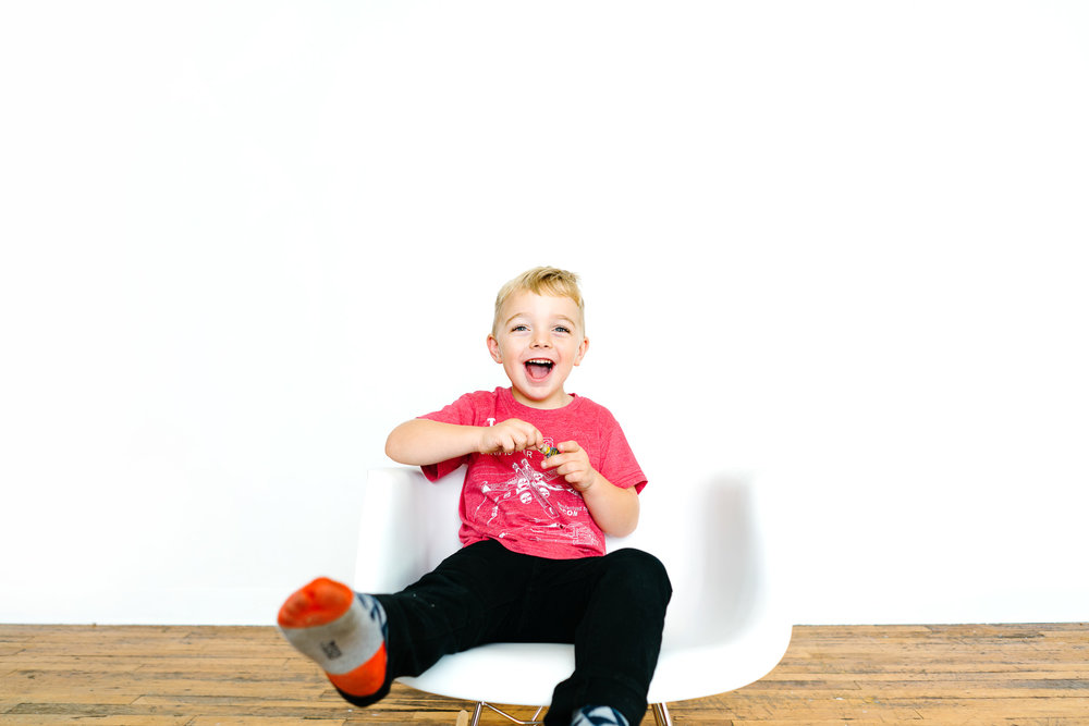 Seattle Modern Preschool Photographer