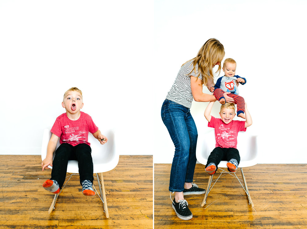 Bellevue Modern Family Portrait Studio