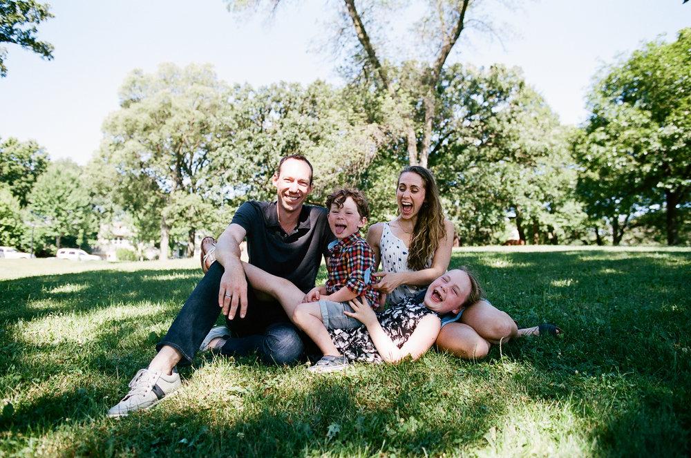 Discovery Park Seattle Washington Family Photos