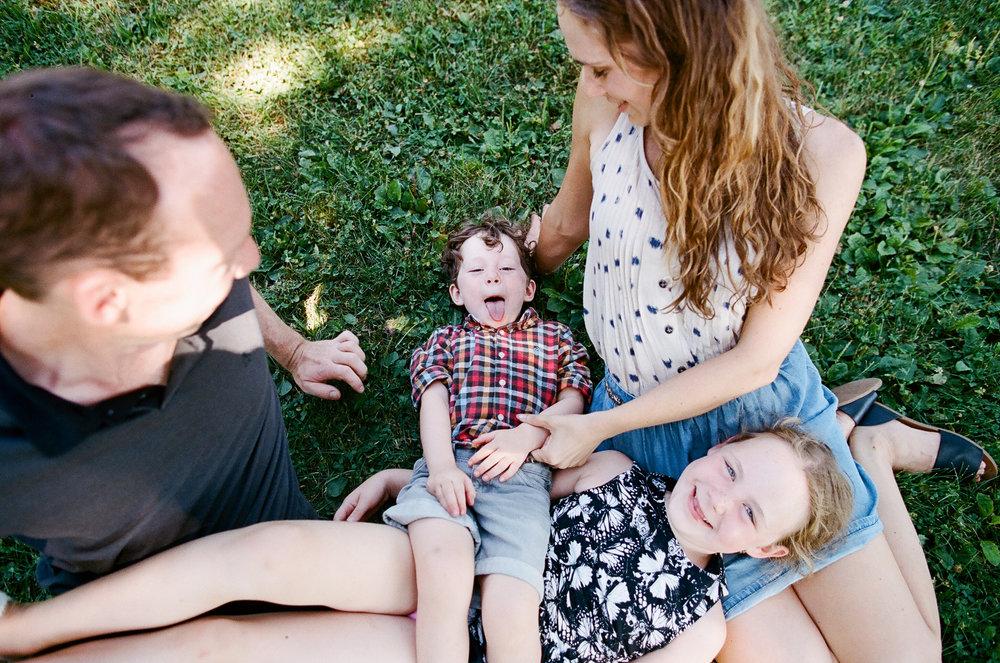Magnuson Park Seattle Washington Family Photos