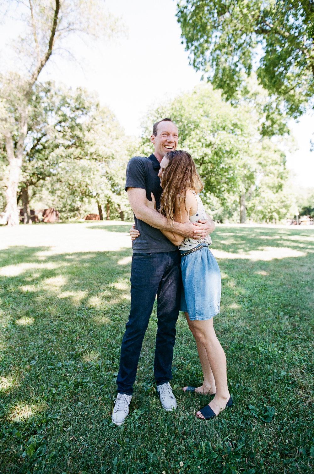 Seattle Fun Couple Photographer