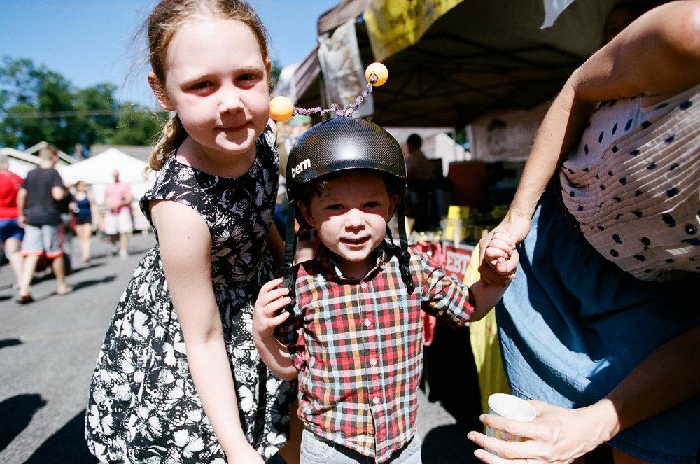 Ballard Farmer's Market Family Pictures