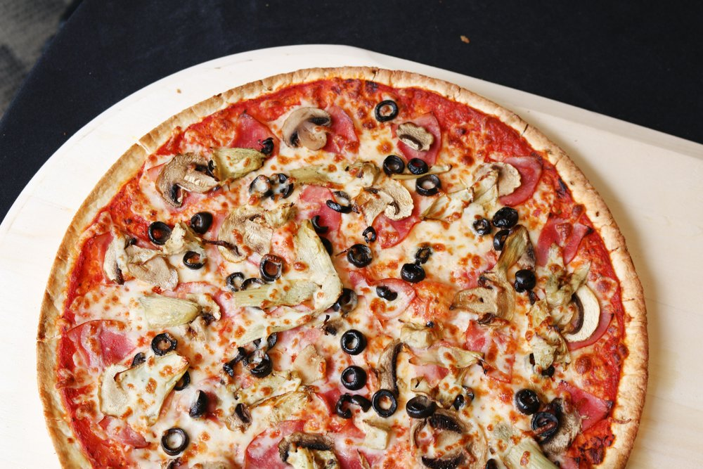 Thin Crust Capricciosa