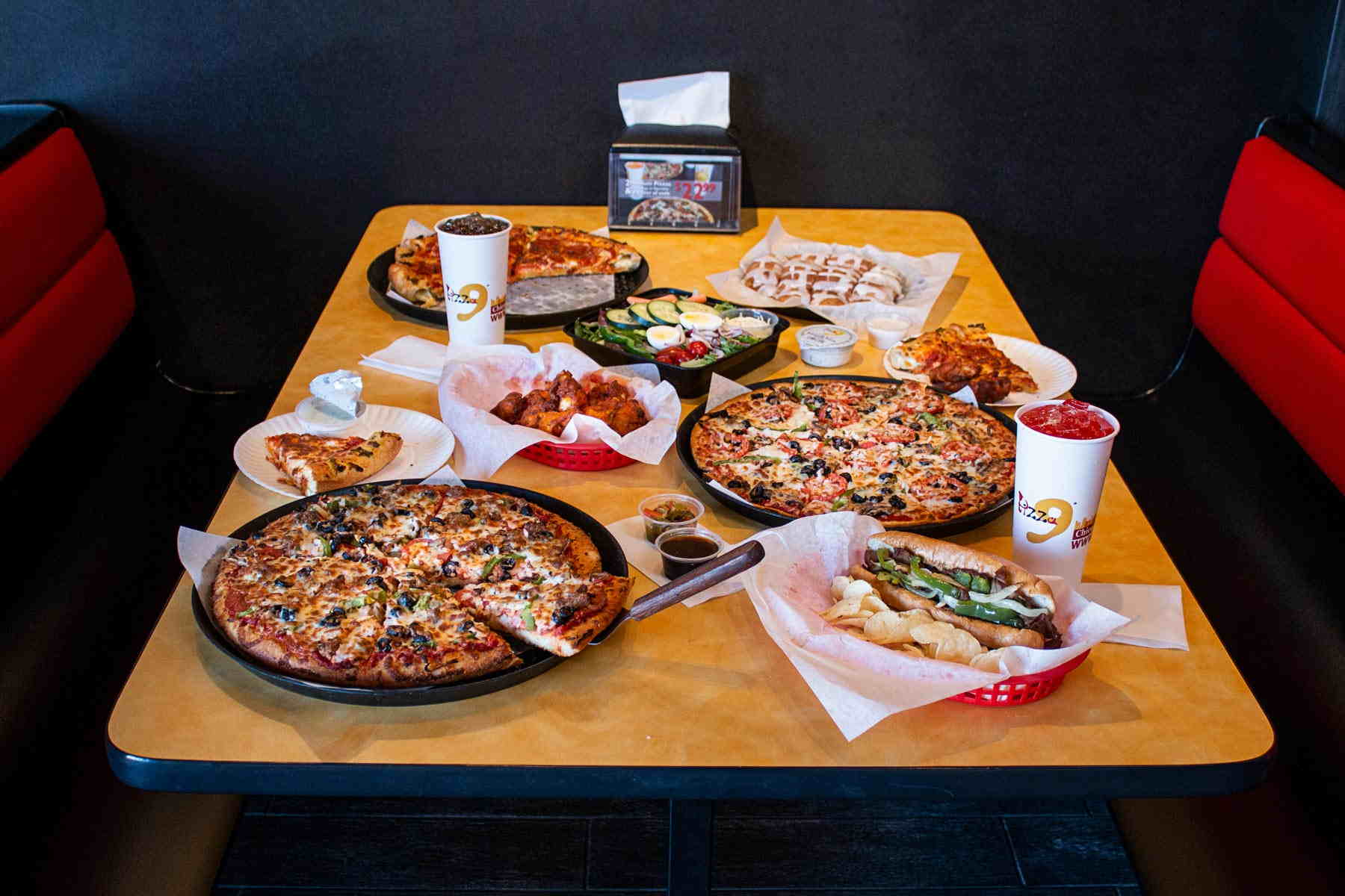 Pizza 9 Your Local Pizza Restaurant Dine In Carry Out