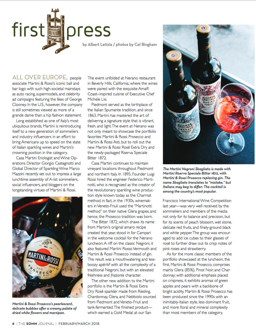 The SOMM Journal, February/March 2018