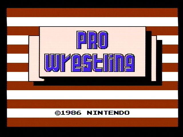 PRO WRESTLING - Episode 038