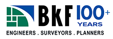 BKF  - For 100+ years BKF has been delivering inspired infrastructure for our clients. With our large network of offices in California we have developed extensive local knowledge that provides us with an understanding of issues relating to feasibility, permitting, and entitlement approvals.