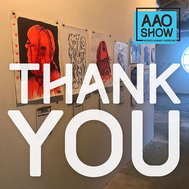Too many to thank, you know who you are. This year's AAO Show was super successful. Stay tuned next week when we announce the dollar amount. ❤️🚫💉