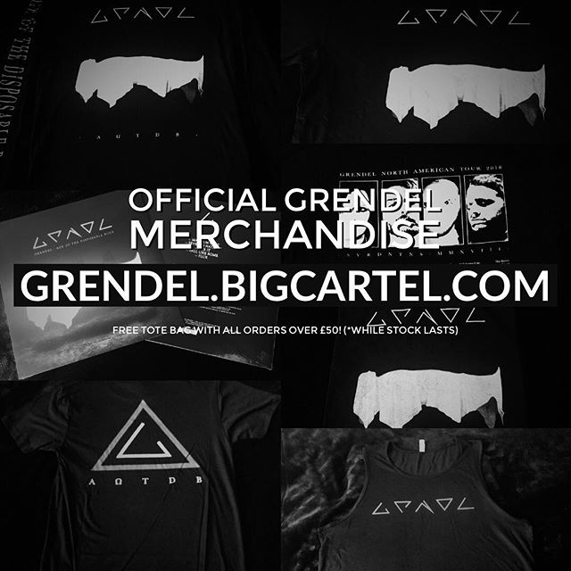 Get your official Grendel gear at http://Grendel.BigCartel.Com. Free Grendel tote bag with all orders over £50 (while stock lasts)
