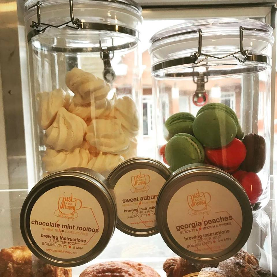 TEAS OFTHE MONTH - Popular tea whole seller, Just Add Honey is one of Atlanta's few tea treasures. Their dedication to serving only the finest tea leaves has helped them culminate a large following and make us fans.