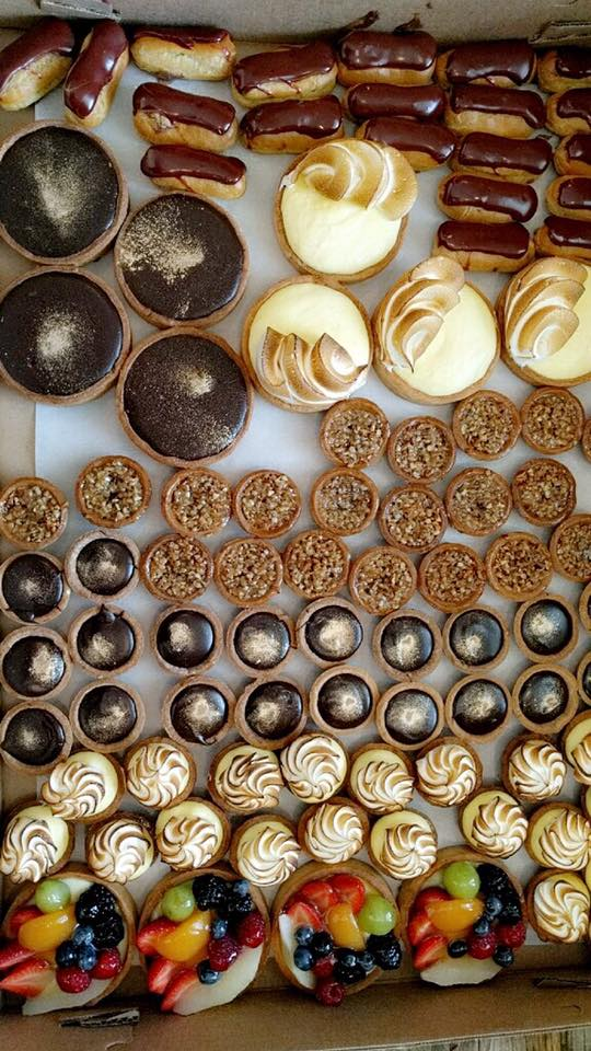 FRENCH PASTRIES - French pastry chef Francois Collet bakes all of our pastries to order and delivers them the same day of our every event. That's great service. Find his pastries at his Alpharetta cafe too!