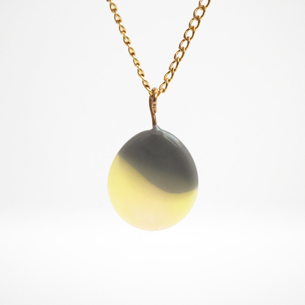 marble necklaces -