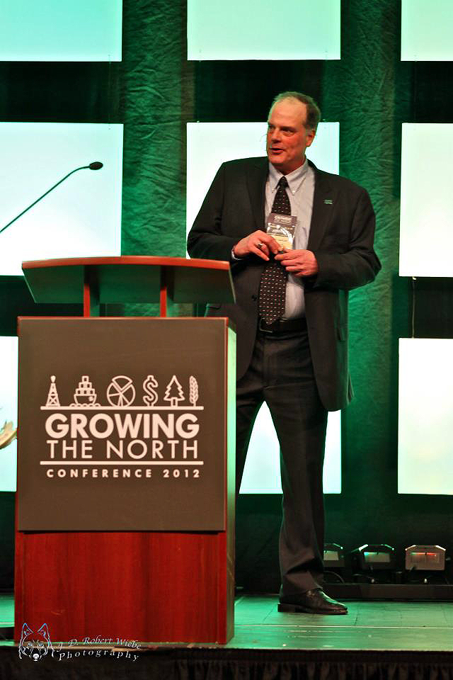 Presenting at Growing the North Conference in Grande Prairie, AB