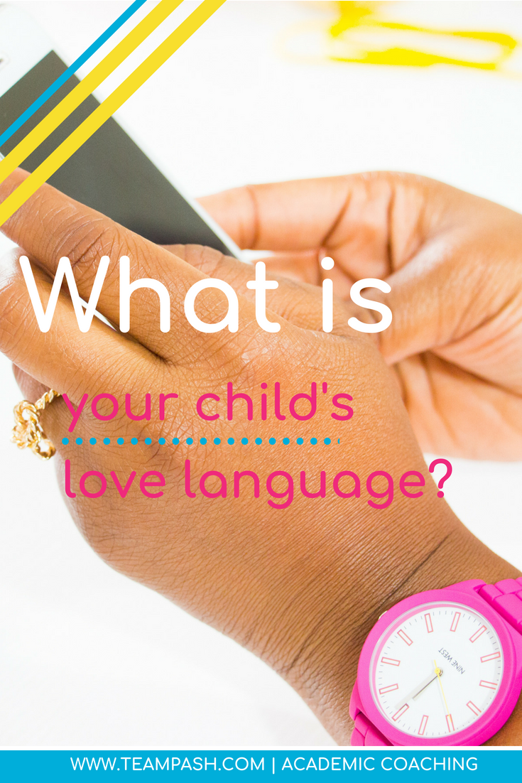 What is your child's love language? As much as we want to think our children take after us, sometimes that is not the case!  Take this quiz to see if your child's love language is what you think it is! #parentingtips #lovelanguage  Marni Pasch, MA Counselor Ed ACC Team Pasch Academic Coaching www.teampasch.com