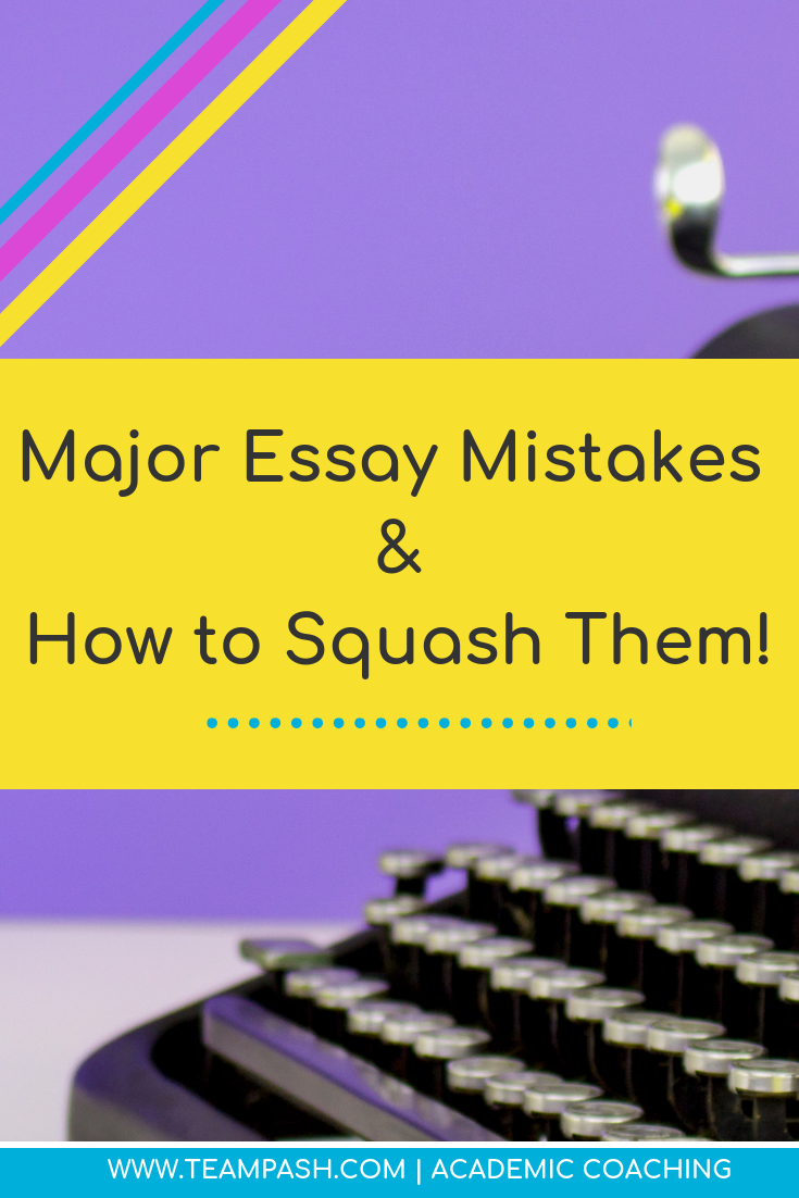 If you are writing an essay, you better RECOGNIZE… if you are making one of these errors.  Proof-reading is part of the essay process whether we like it or not. Make sure you are not wasting points by leaving out these steps!  #writinghacks #essayhelp #middleschool #highschool #essay  Marni Pasch Team Pasch Academic Coaching www.teampasch.com