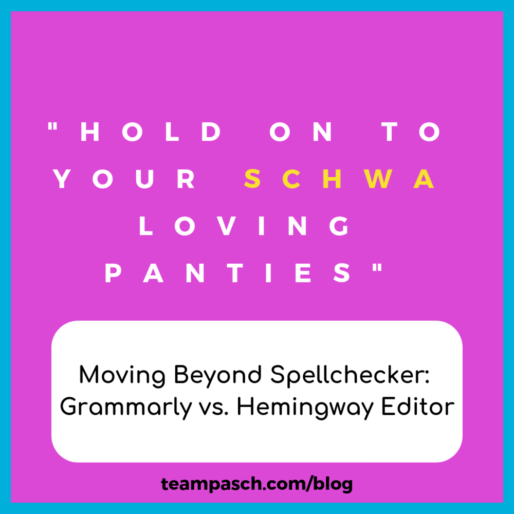 What is your favorite editing tool? This week, I take a look at two of my favorite tools Grammarly and Hemingway Editor.  What is your favorite modern editor?  #proofreading #essayhelp