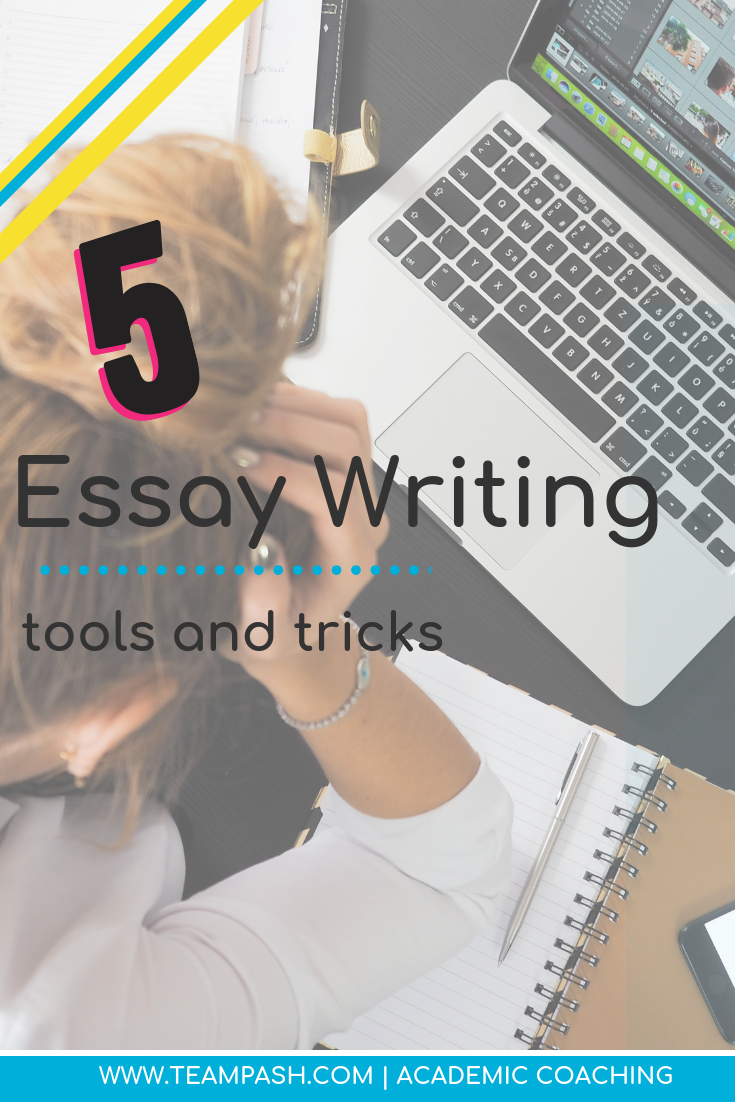 Tech tools for essay writing