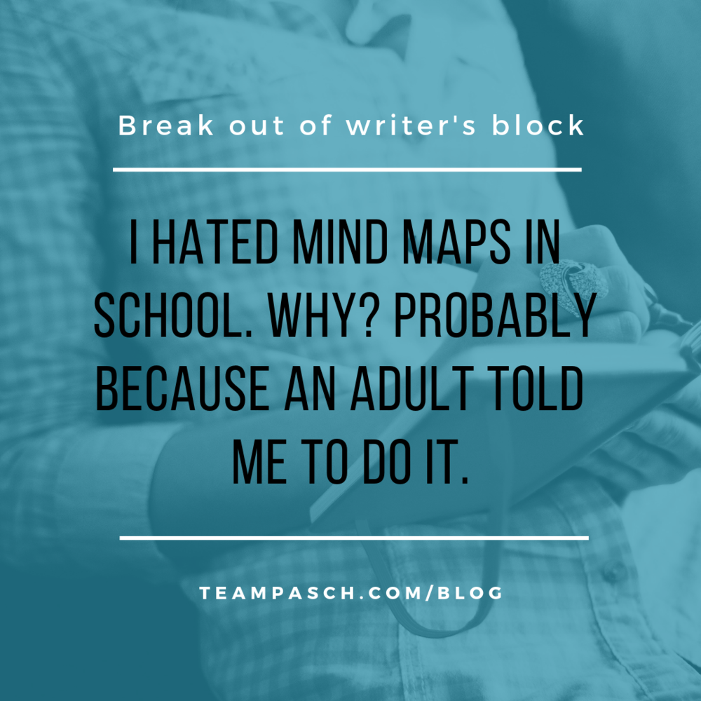 How do you get over writer's block? My favorite technique is make crazy noises and shake my body.   Yes, I look weird. Yes, I scare my kids.  But it works.  It works because I have to physically snap myself out of my writing funk and remind myself that I am playing mind games with myself and making the process A LOT more difficult!  How do you break free of writer's block?