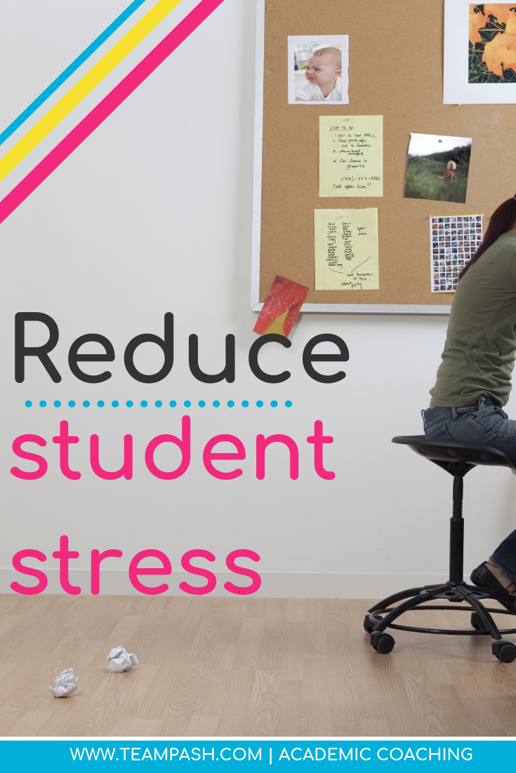 Student stress can lead to adult burnout. Here are a few easy ways to help our teens incorporate self-care. Share with your child or practice them as a family!  #parenting #selfcare  Marni Pasch Academic Coach Team Pasch Academic Coaching www.teampasch.com