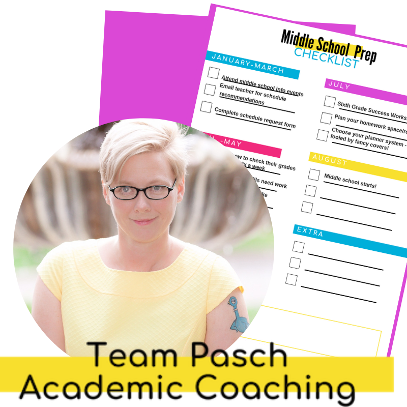 Have you grabbed the Sixth Grade Success Road Map Yet? A FREE resource to help parents prepare for the transition to middle school!  teampasch.com/sixthgradesuccessroadmap