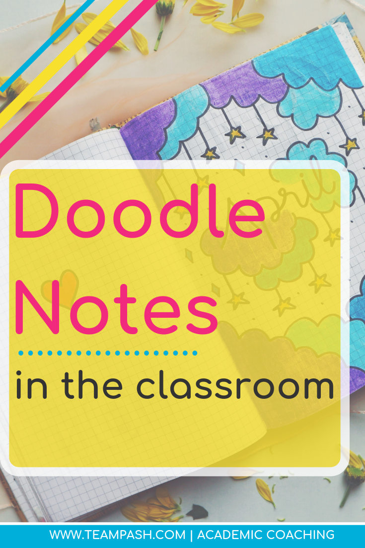 Is your child or student struggling with note taking? What if there was a better way? Pin this article on how to bring doodle notes into the classroom! Excellent resource for creative students.  Marni Pasch Team Pasch Academic Coaching www.teampasch.com