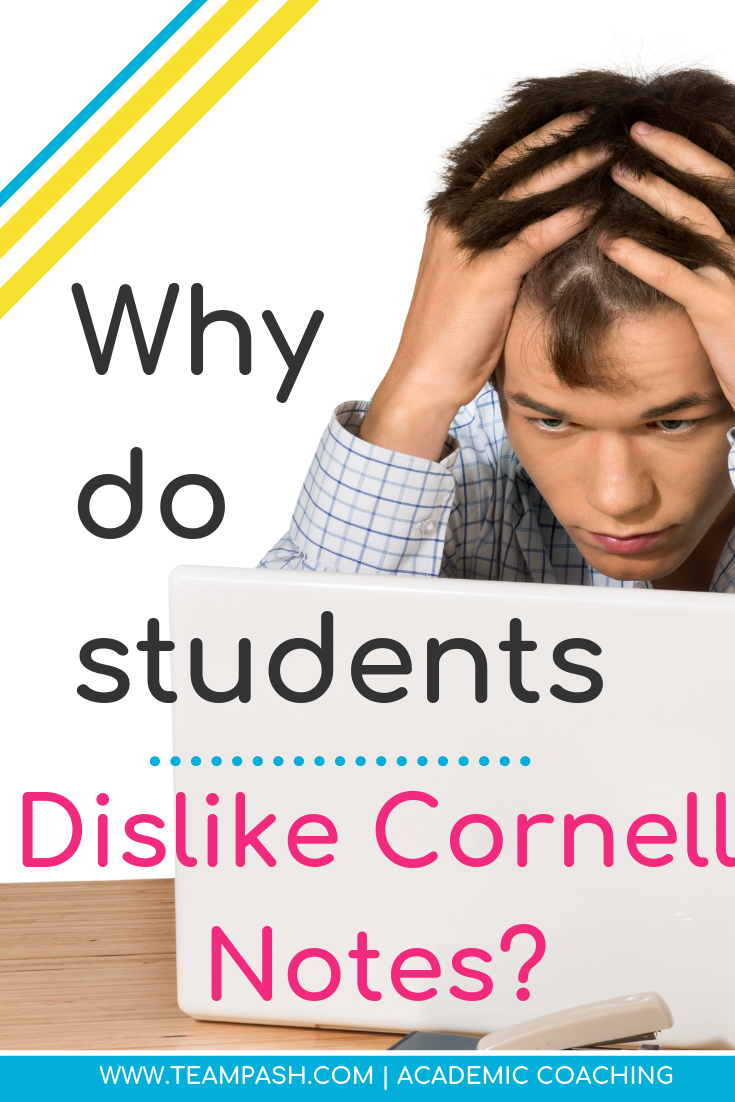 Teachers often instruct students to use the Cornell Note Taking method. Why do so many students hate writing notes in this manner?  Let's explore the reasons behind the dislike of Cornell notes and if their might be a better notetaking system.     www.teampasch.com School Counselor Gone Rogue is a podcast by trained school counselor turned academic coach, Marni Pasch.  Join the conversation about all things struggling students, education, parenting, ADHD, time management and more.    #parenting #podcast  Marni Pasch Academic Coach Team Pasch Academic Coaching www.teampasch.com