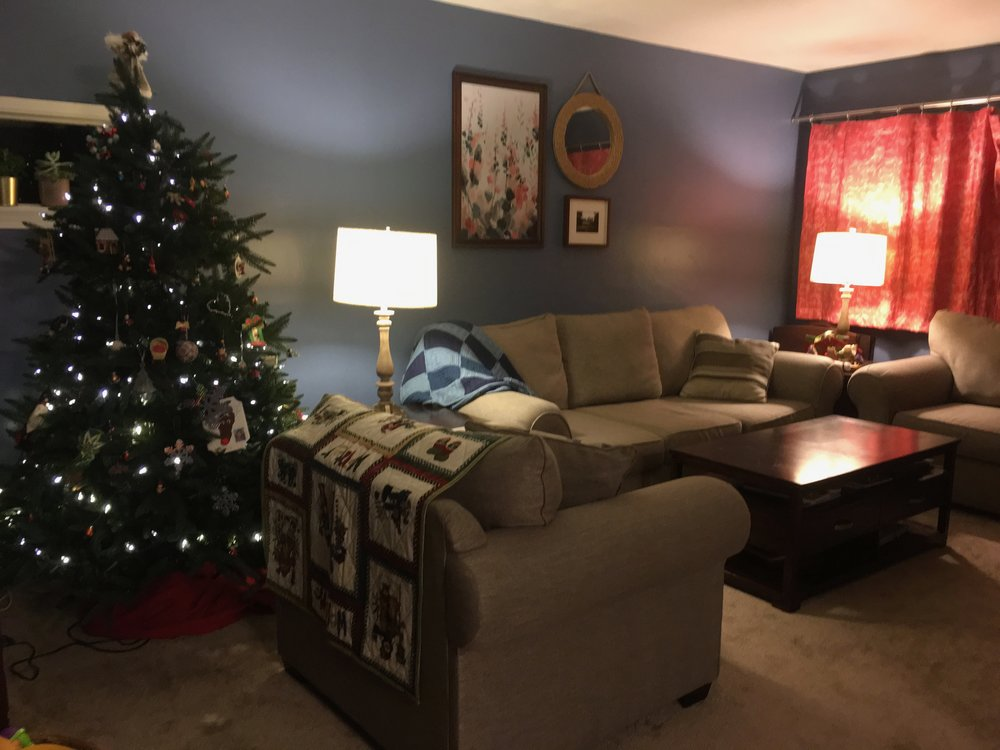 The final look of our living room.