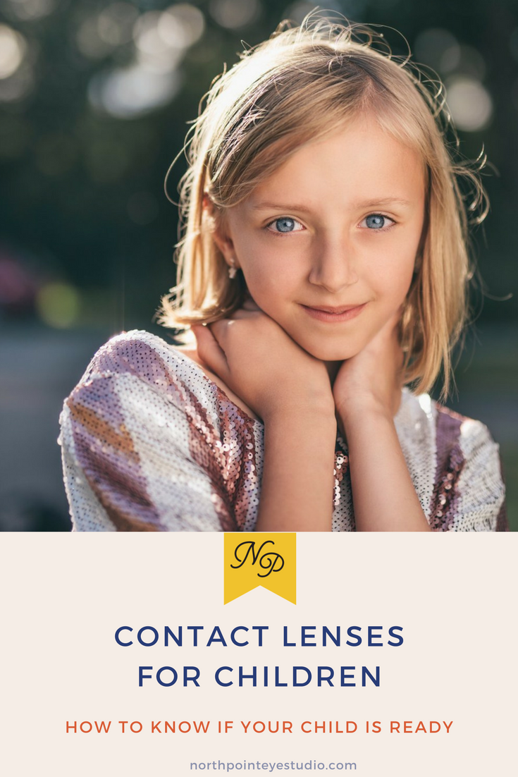 Four signs your child will be successful in contact lenses.