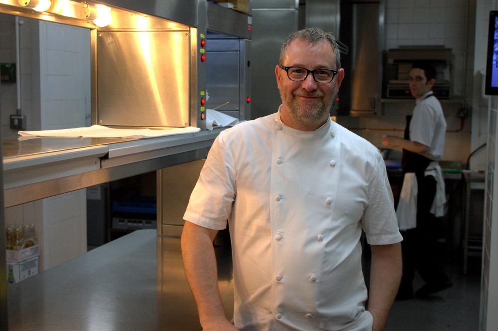 Chef Patron: Alyn Williams - Cuisine: French, EuropeanMichelin: One StarAA: Four RosettesTwitter: @chefalynInstagram: @alynwilliamswestburyAddress: The Westbury Hotel, 37 Conduit St, London W1S 2YFPhone: 020 7183 6426Website: alynwilliams.com