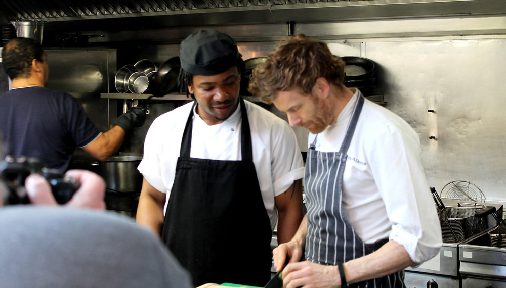 tom aikens in teaching mode