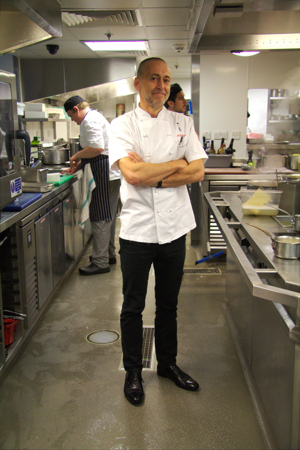 michel roux Jr. in the house