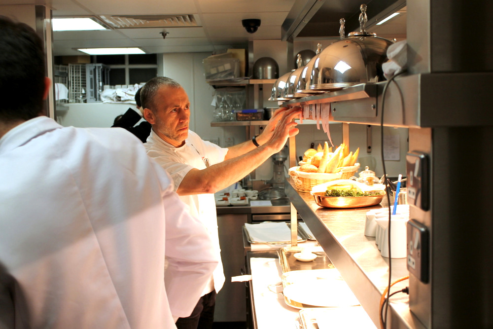 with michel roux jr. at le gavroche